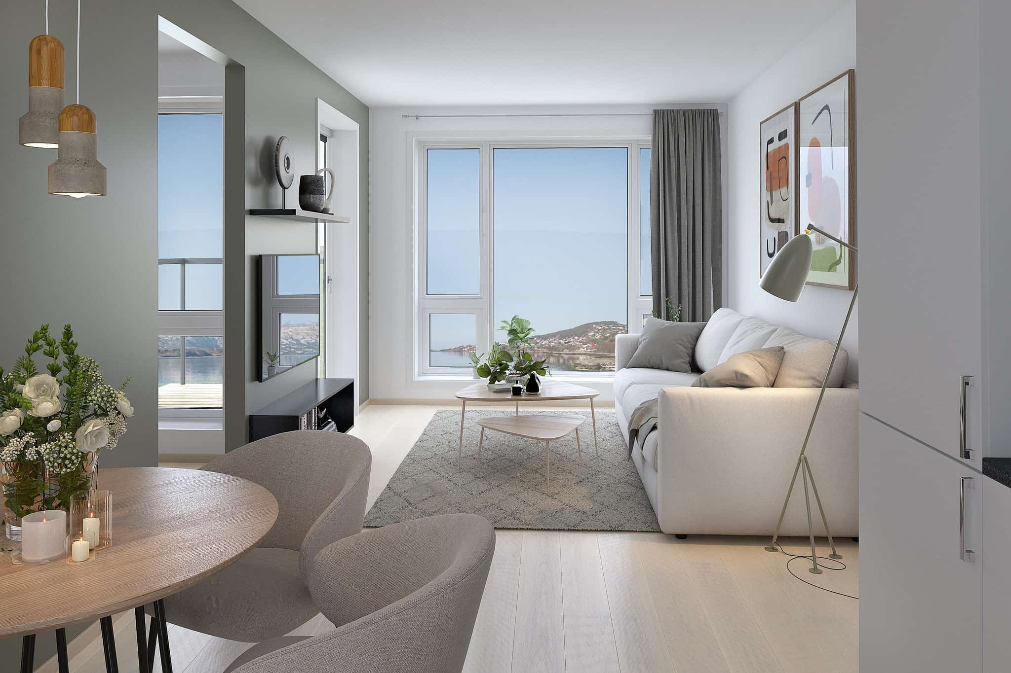 Vigør PEAB Borgundfjord 1-roms leilighet